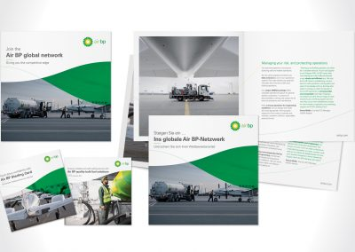 Air BP brochures