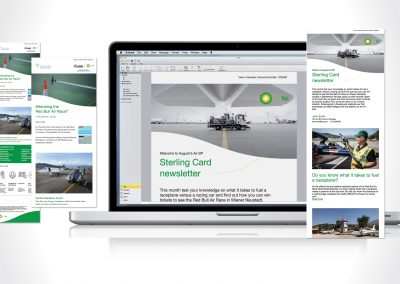 Air BP email marketing