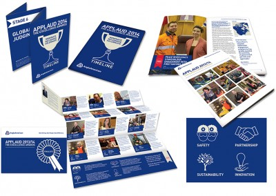 Communication material for Anglo American's global staff recognition programme