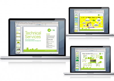 Animated powerpoint for Air BP Technical Services