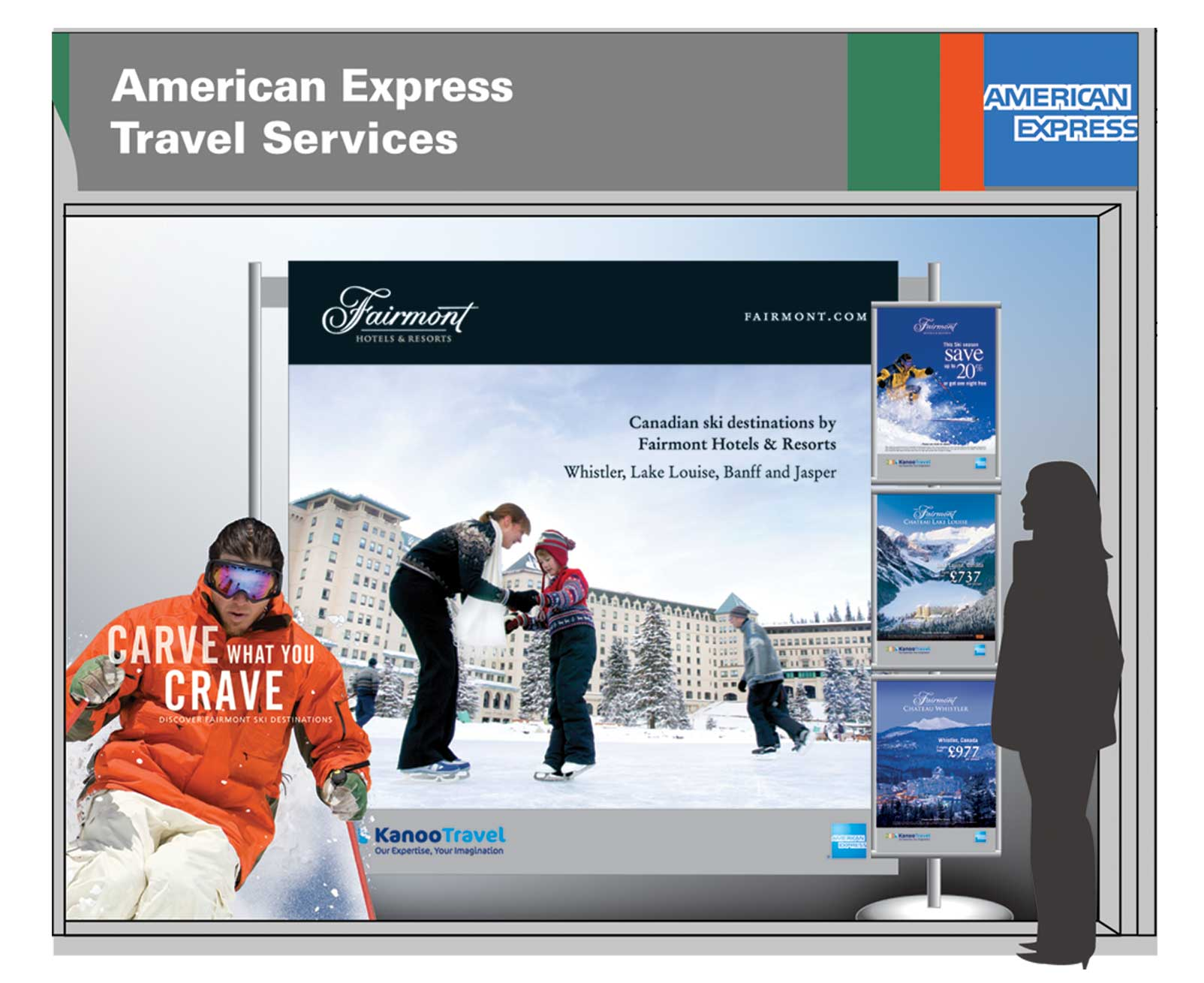 Partnering Fairmont Hotels and Resorts with American Express Travel