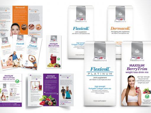 Healtharena branding
