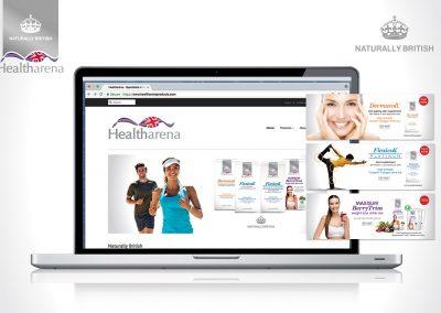 Healtharena brand identity