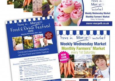 Promoting Morpeth's Food & Drink Festival