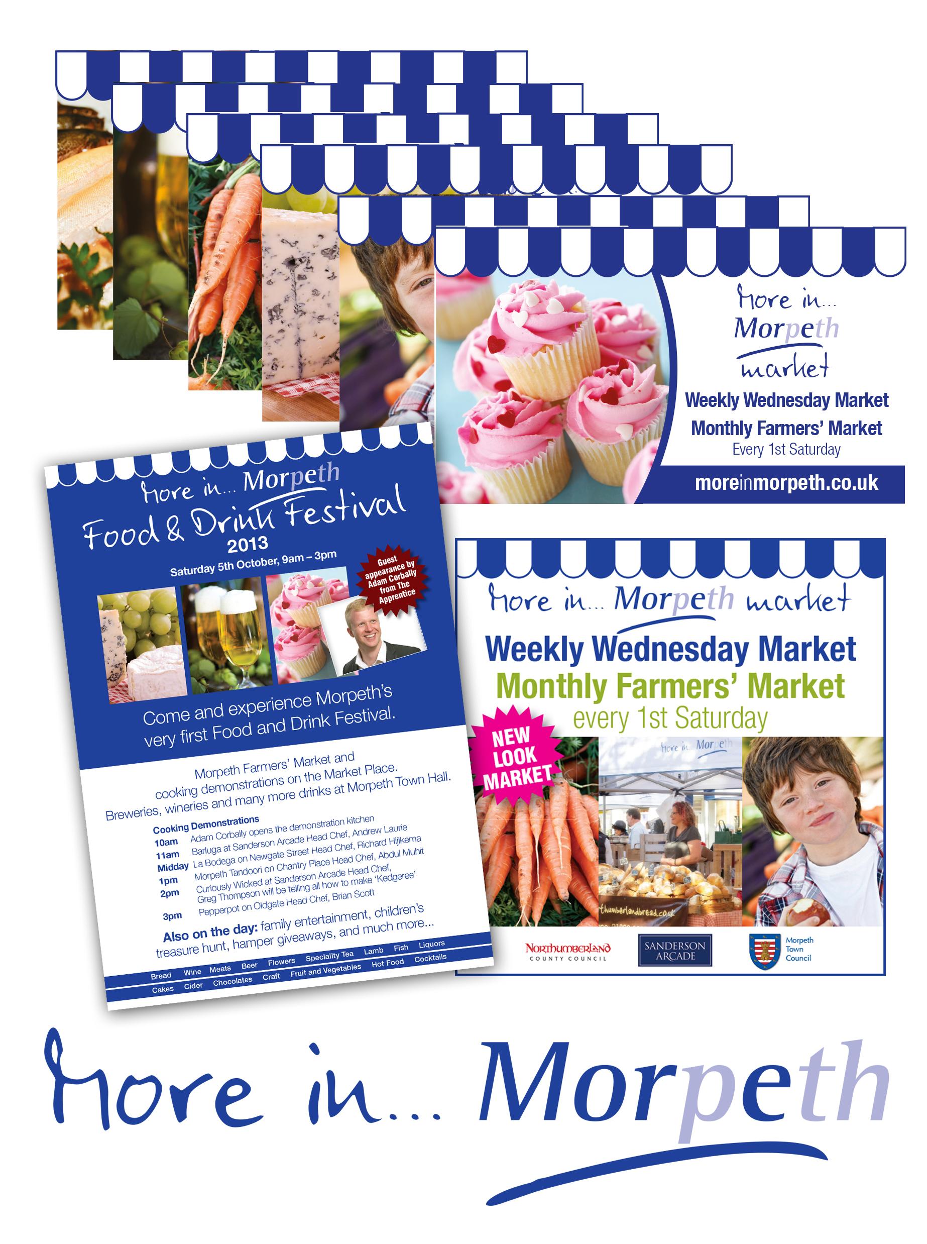 Promoting Morpeth's Food & Drink Festival