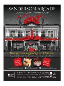 Christmas Campaign for Sanderson Arcade