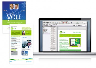 Email marketing for Air BP