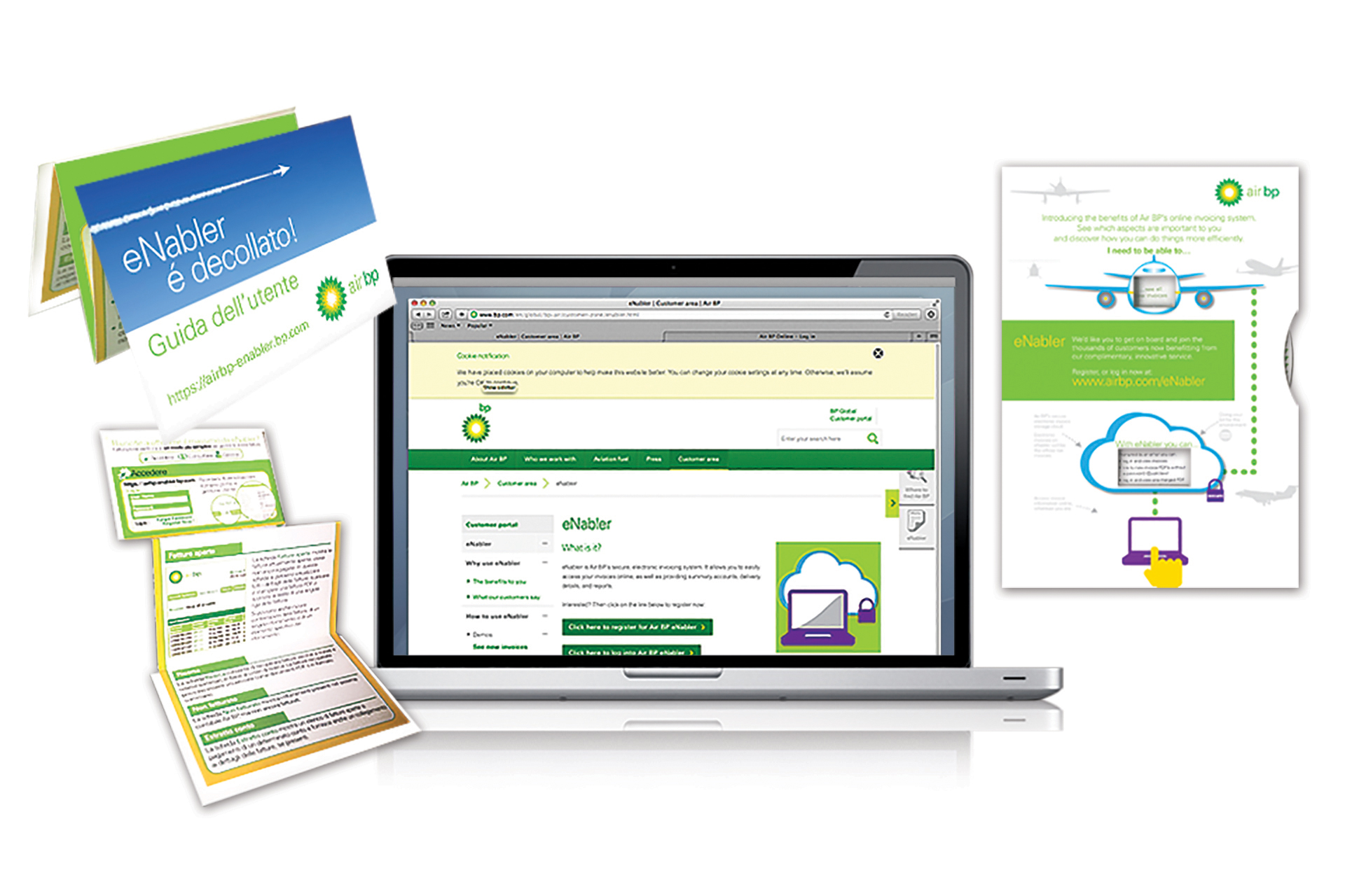 Integrated campaign for Air BP