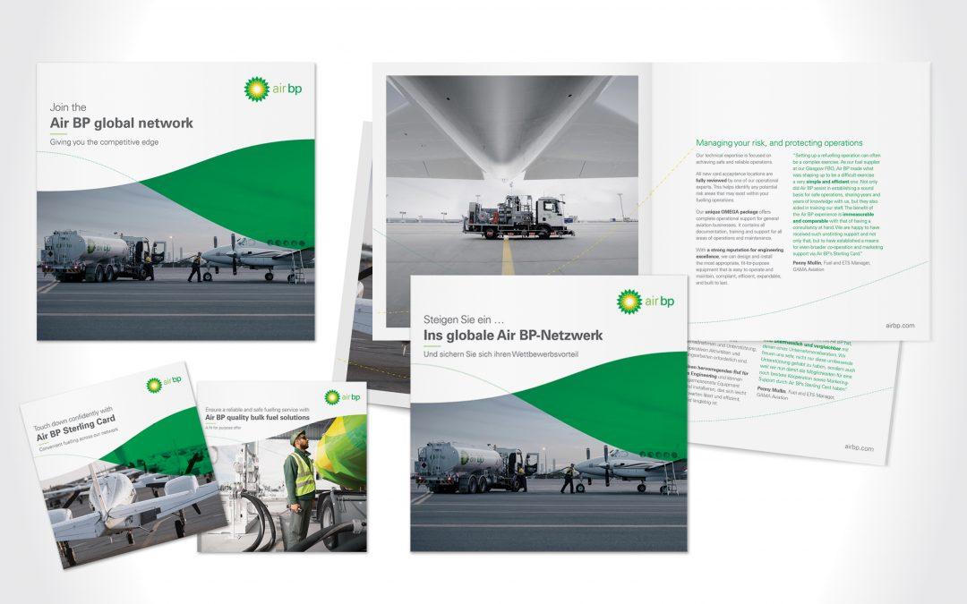 Air BP brochures