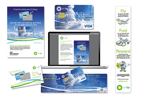 Integrated campaign for Air BP Sterling Rewards programme