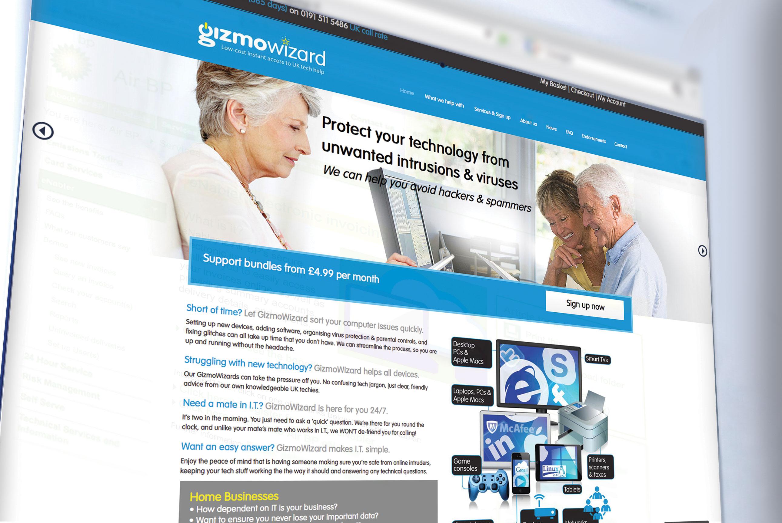 Branding and marketing Gizmowizard